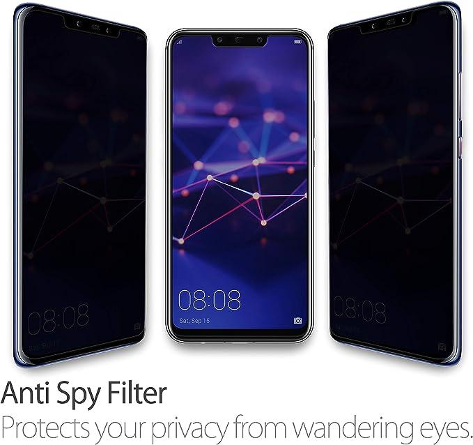 Anti Spy mirada lámina de protección para Panasonic Lumix dc-fz82 protección Visual Display