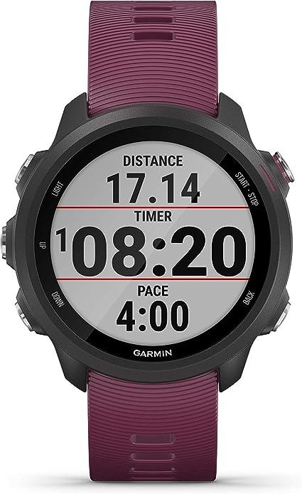 Garmin Forerunner 245 - Reloj multisport con GPS - Burdeos ...