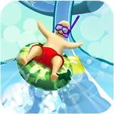 Slippery Water Slide : Fun Aqua-Park Race Adventure 3D
