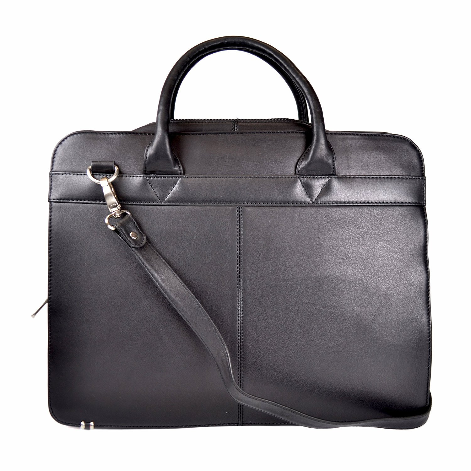 Royce Leather 15'' Executive Laptop Briefcase in Genuine Leather