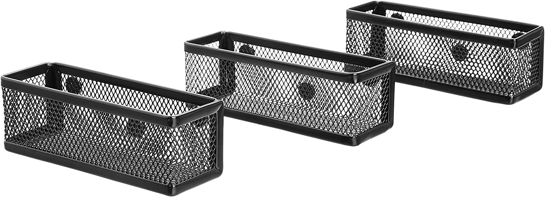 AmazonBasics Mesh Magnetic Storage Bin