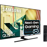 "Samsung QLED 4K 2020 55Q70T - Smart TV de 55"" con Resolución 4K UHD, Inteligencia Artificial 4K, HDR 10+, Multi View…"
