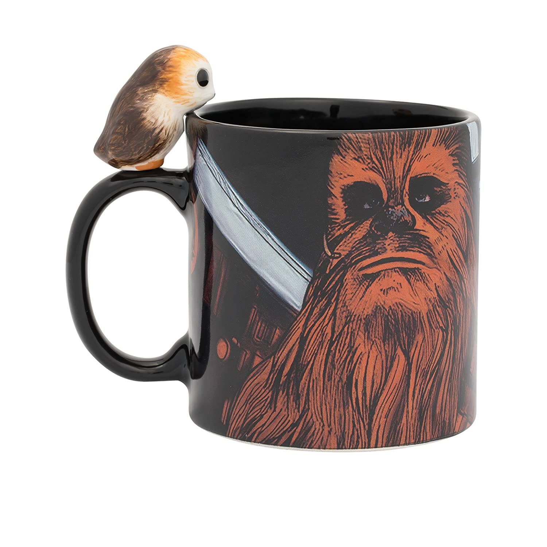 Premium Sculpted Mug Vandor 56158 Star Wars Admiral Ackbar 20 oz
