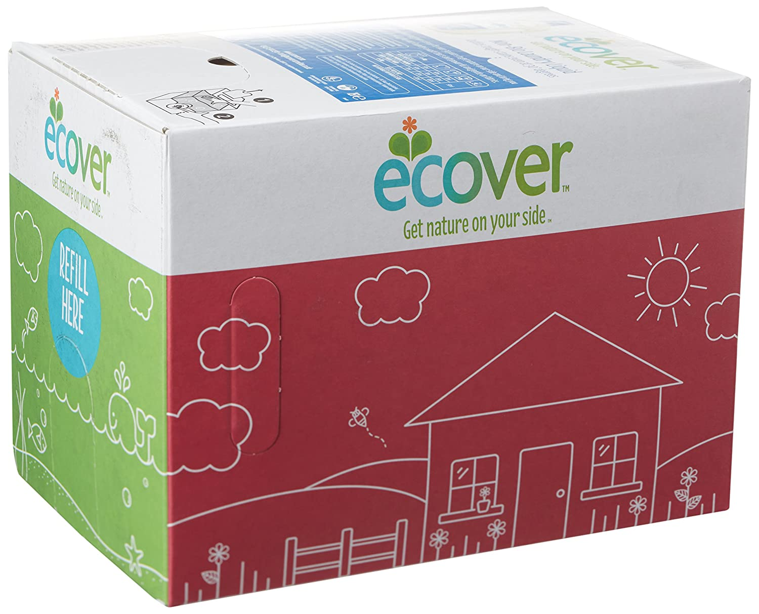 Ecover Non-Biological Laundry Liquid Refill 15 Litres 62601 B002QGHDW4
