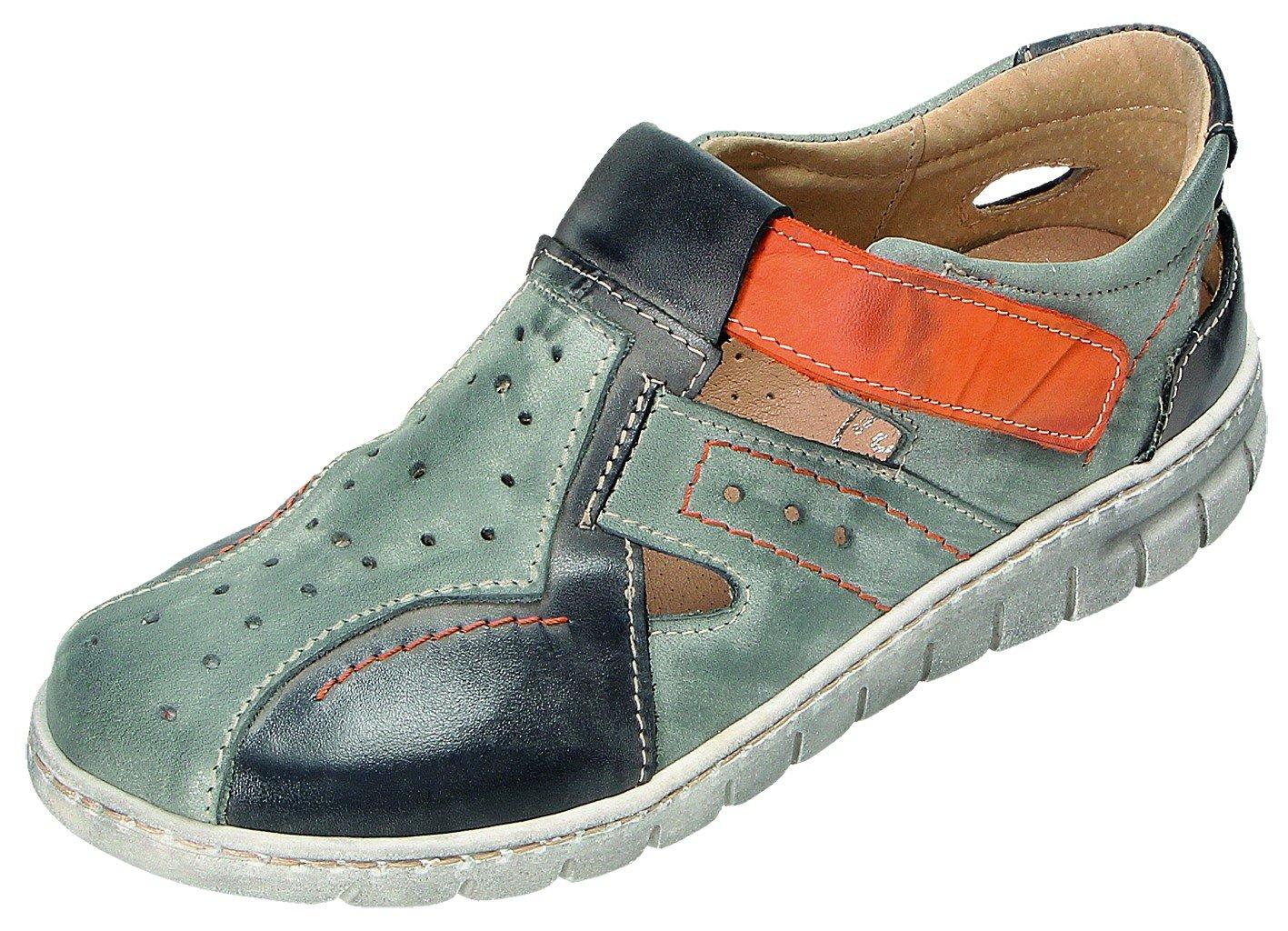 MICCOS Zapatos de Cordones Para Mujer Gris blaugrau/Komb. 39 EU|blaugrau/komb.
