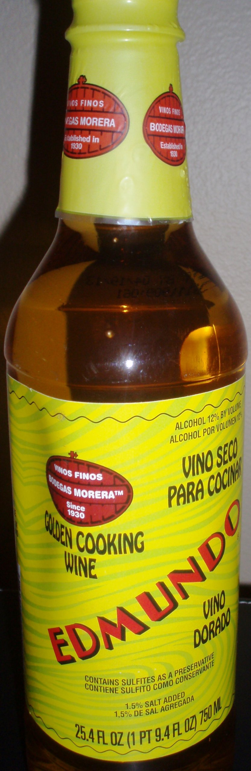 Edmundo, Cook Wine White Goldn, 25.4 Oz by Edmundo
