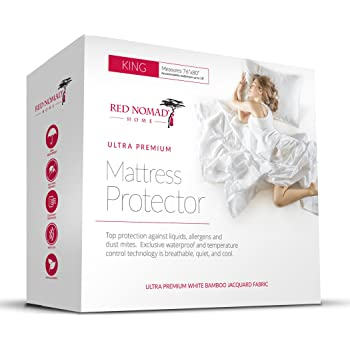 Amazoncom Sleep Chill Mattress Protector With Soft And Moisture