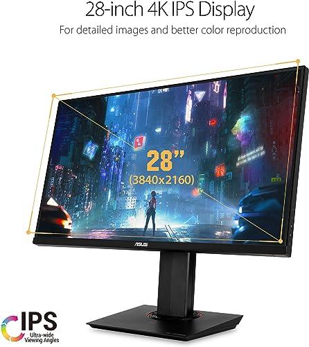 """ASUS TUF Gaming VG289Q 28"""" HDR Gaming Monitor 4K"""