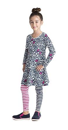 61b5f620d Amazon.com  Masala Kids Girls  Organic Bianca Bloom Dress  Clothing