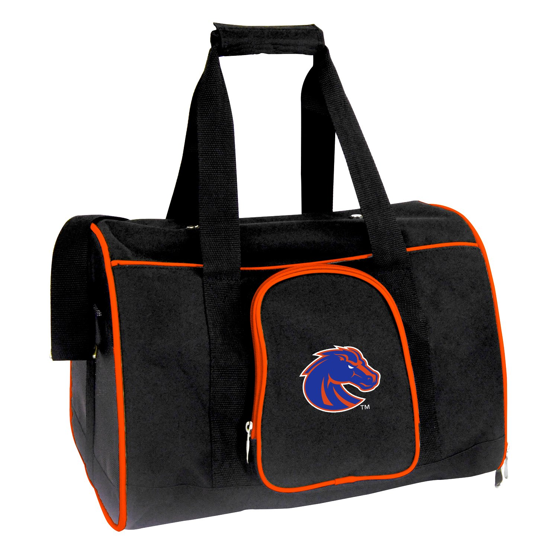 Denco NCAA Boise State Broncos Premium Pet Carrier