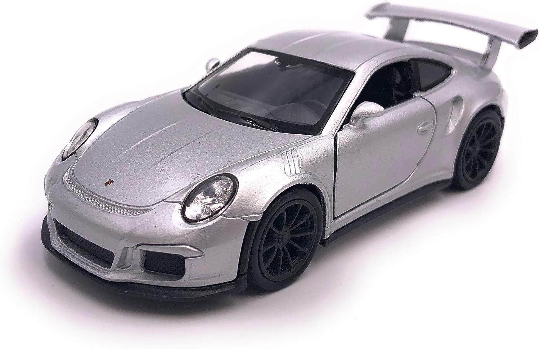 H-Customs Porsche 911 991 GT3 RS Modellauto Auto Lizenzprodukt 1:34-1:39 Silber