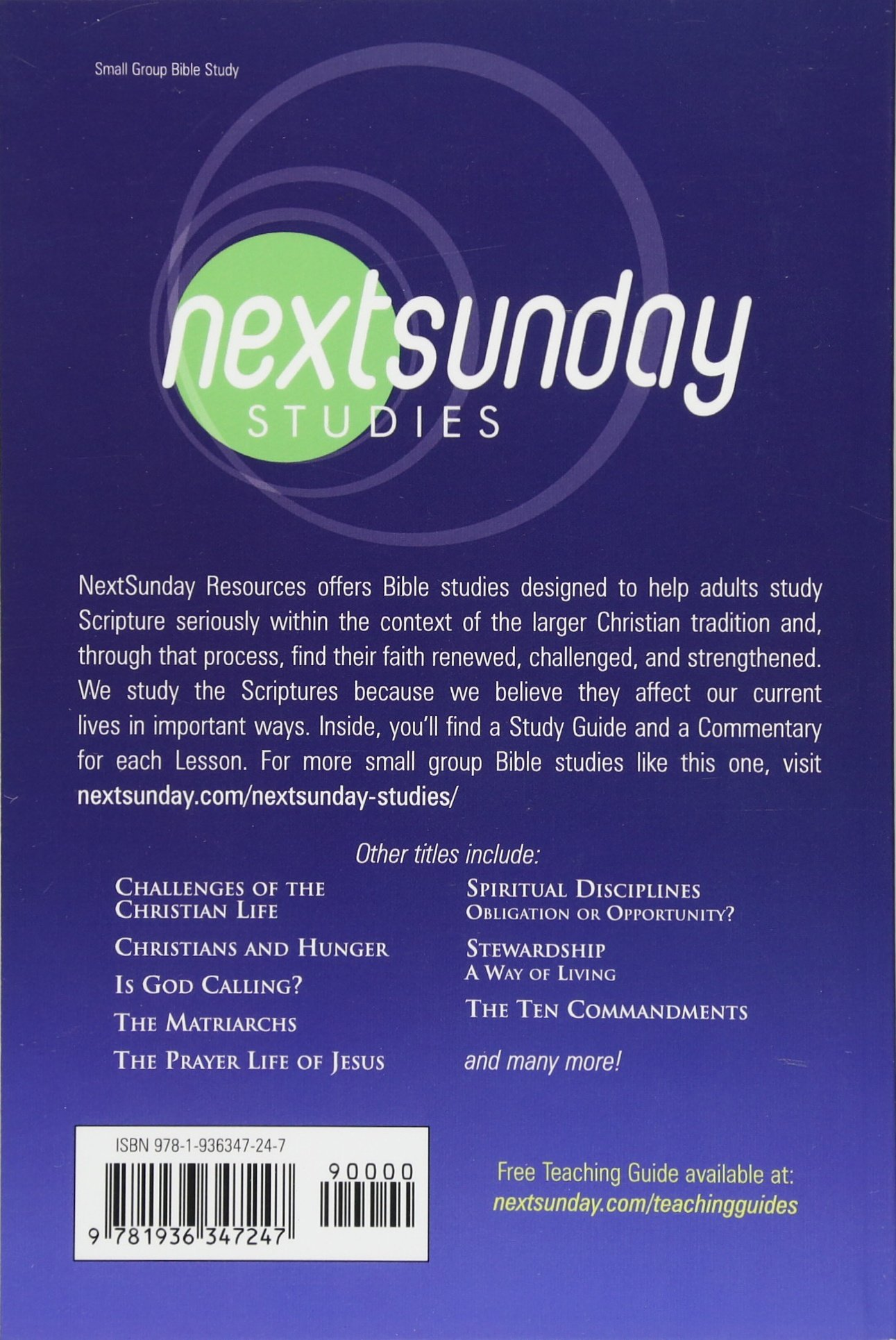 Christians and Hunger (NextSunday Studies)