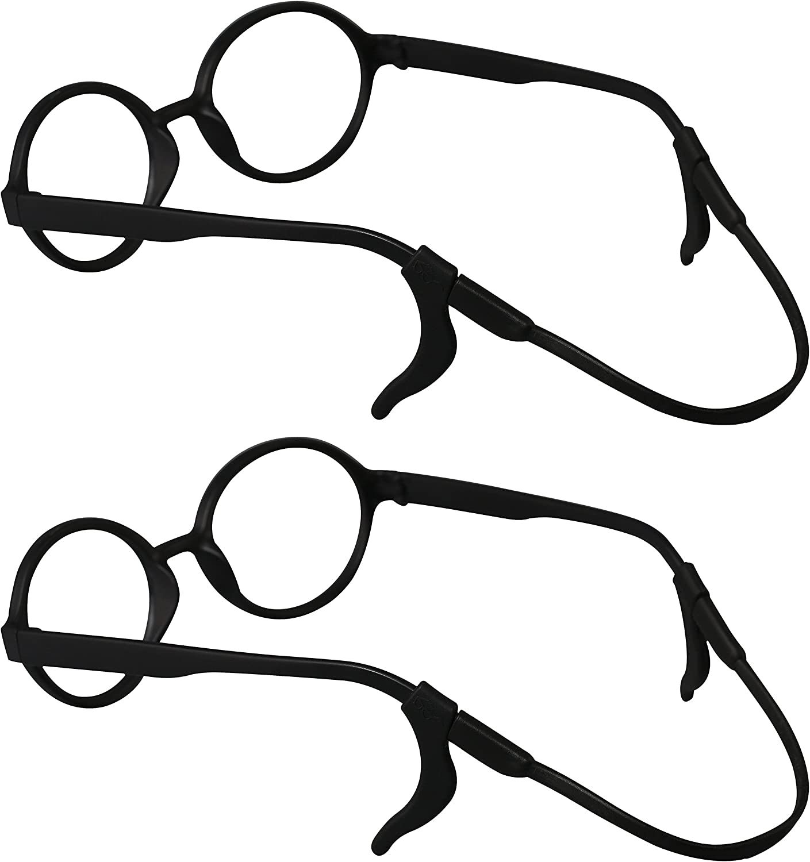 Penta Angel Sunglasses Eyewear Safety Retainer 4Pcs Assorted Colors Eyeglasses Straps Adjustable Eye Glasses Chains Strings Holder for Men Women Kids Teens Outdoor Sports