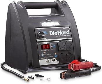 DieHard 1150 Peak Amp 12V Jump Starter with 100PSI Air Compressor