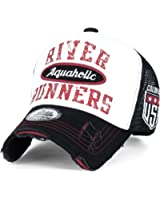 ililily River Runners Aquaholic Colorado Vintage Trucker Hat Baseball Cap