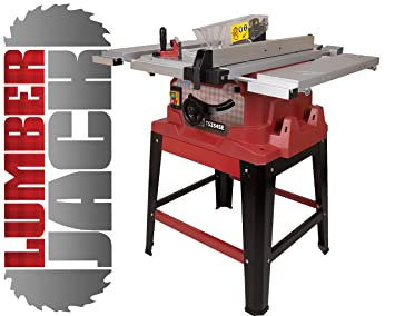 Lumberjack ts254se 254mm 10 1500w table saw with extending table lumberjack ts254se 254mm 10quot 1500w table saw with extending table and legstand 230v greentooth Gallery