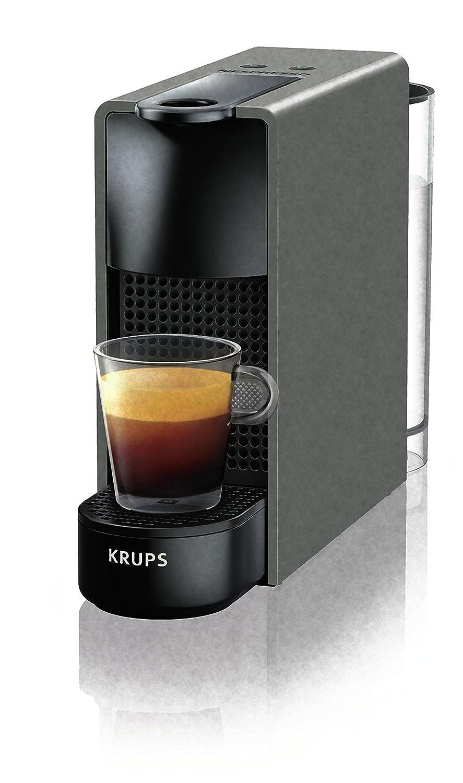 Máquina para café Krups xn110bk - Essenza máquina para Espresso para cápsulas café Capacidad la Bidón 0,6 l de color gris: Amazon.es: Hogar