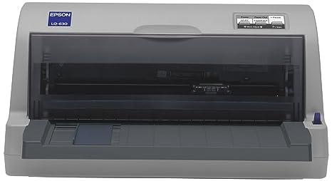 Epson Lq 630 - Impresora Blanco y Negro (A4): Epson: Amazon ...