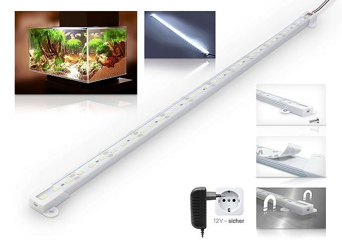 Lámpara de acuario LED Universum Leduaql506000, protegida contra salpicaduras, 50 cm, 6000 K