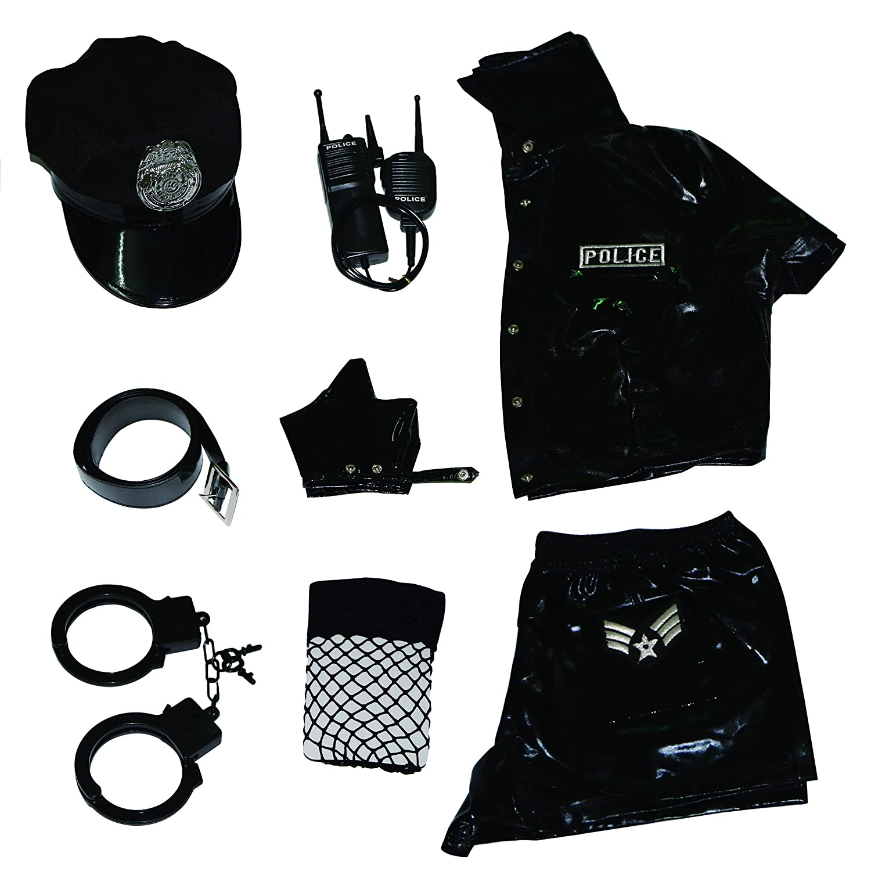 Amazon.com: Esquki - Disfraz de policía para mujer: Clothing