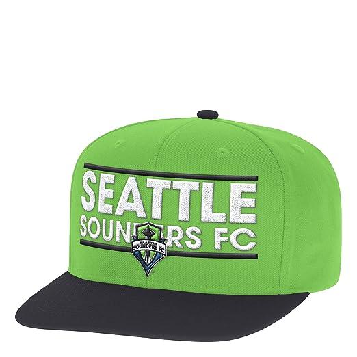 679500bf4 Amazon.com : adidas MLS Seattle Sounders Fc Men's Dassler Flat Brim ...