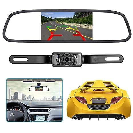 Ebay Motors Rear View Monitors/cams & Kits Car License Plate Rear View Reverse Backup Hd Camera Ir Night Vision Waterproof Consumers First