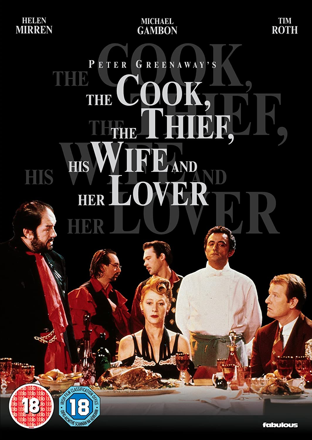 The Cook, The Thief, His Wife And Her Lover DVD Reino Unido ...