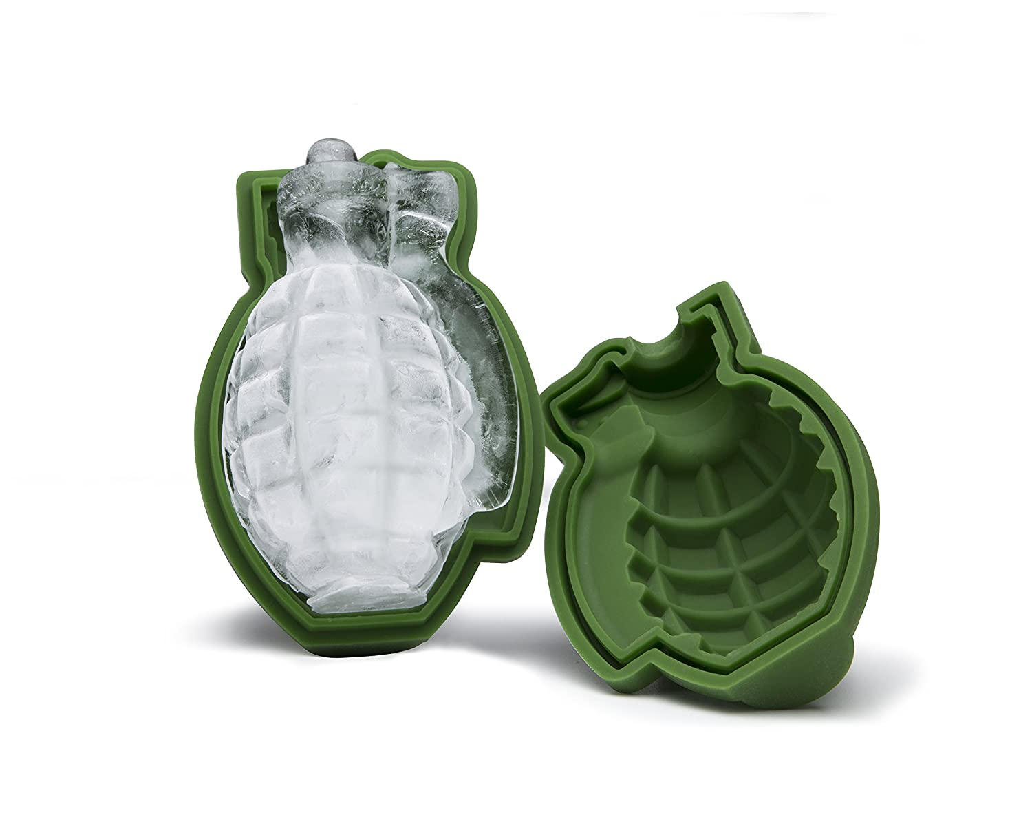 3D Grenade Ice Cube Mold, Silicone Ice Mold, A Great Mens Gift