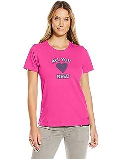 b904e272d237b Amazon.com: Life is Good Women's Sleep Tee Dress, Small, Cloud White ...