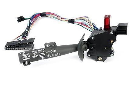 multi-function combination switch - turn signal, wiper, washers, hazard  switch,