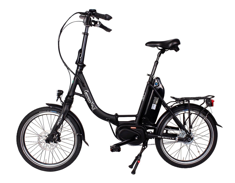 Premium Germ anxia eléctrico de bicicleta plegable mobile Master CM 8 G Buje Shimano con contrapedal de/rollo frenos, Max.