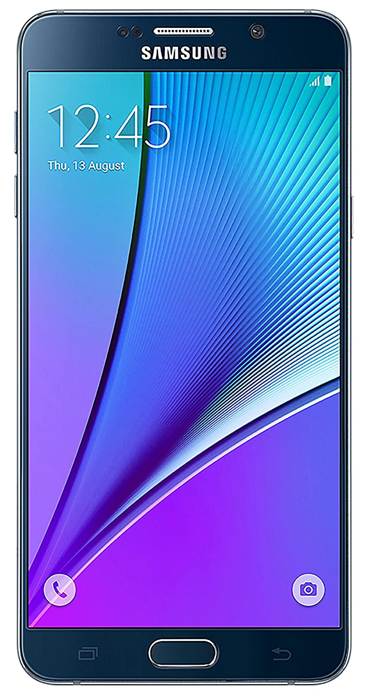 Samsung Galaxy Note 5 N920 32GB Silver Black SimFree DEBLOQUES - International Version LANGUE FRANCAIS