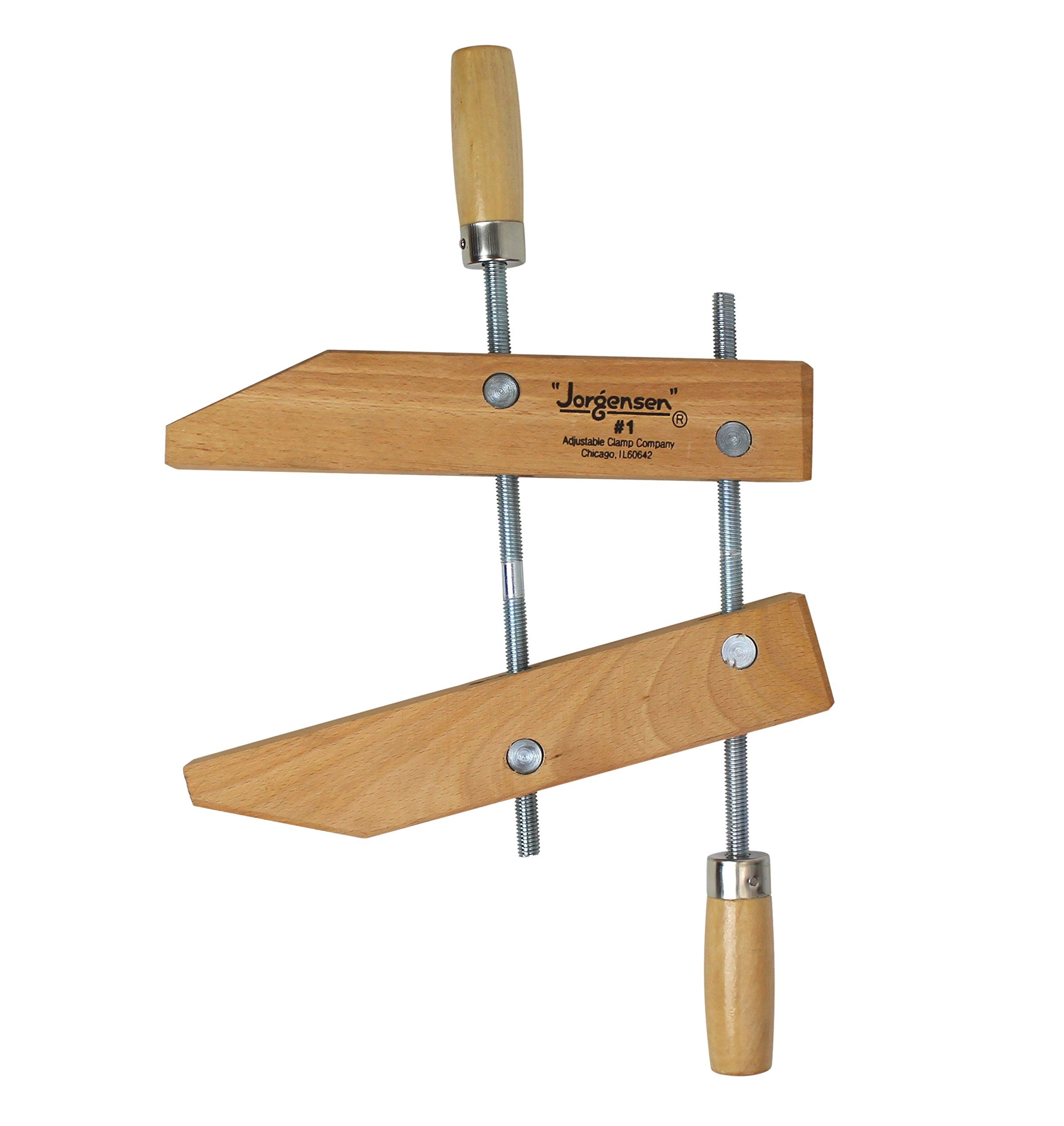 Jorgensen Size 1 6-Inch Handscrews Wood Clamp by Pony Tools (Image #1)