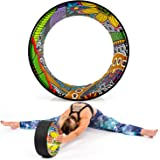 Yoga EVO 13'' Yoga Wheel – Strong & Comfortable Dharma Yoga Prop For Inversions & Backbends