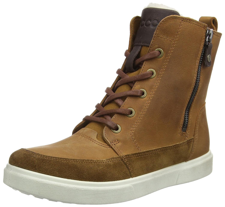 9f46286f3f7 ECCO Caden, Boys' Combat Boots: Amazon.co.uk: Shoes & Bags