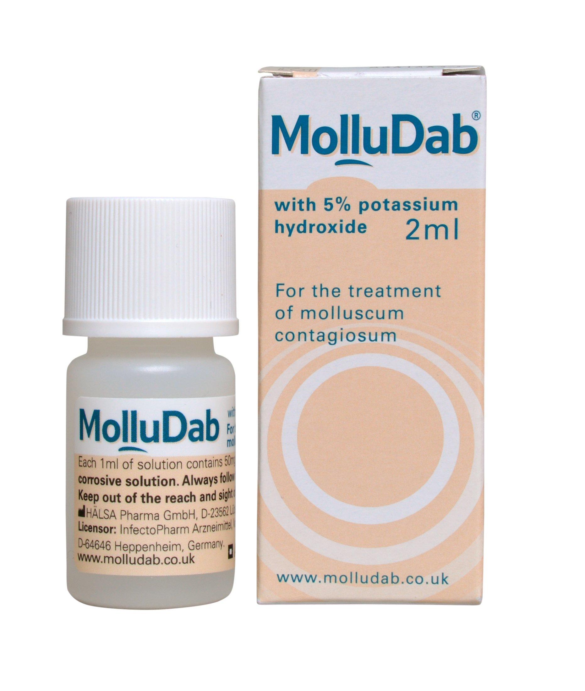 MolluDab Molluscum Solution, 2 ml