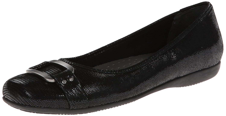 Trotters Women's Sizzle Flat B00HQ1DDYG 9 B(M) US|Black