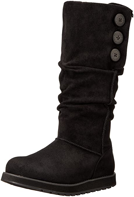 Skechers Women's Keepsakes-Big Button Slouch Tall Winter Boot Stivali Donna