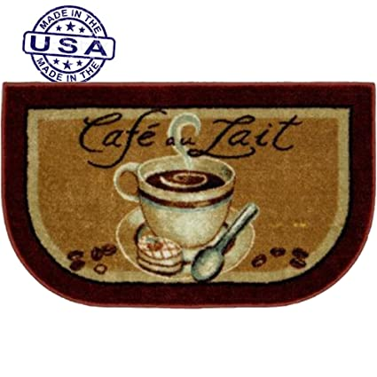 Better Homes And Gardens Kitchen Mat, Coffee Slice Rust Cafeu0027 Au Lait  Coffee 20
