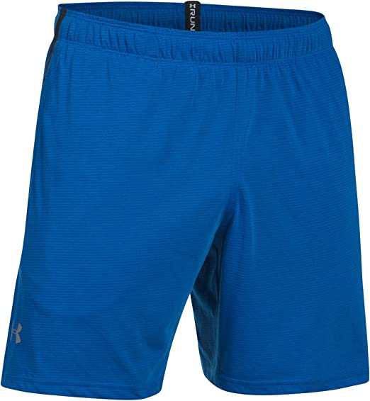 "Under Armour Mens Speed Stride Solid 7/"" Woven Gym Training Shorts UA Sports"