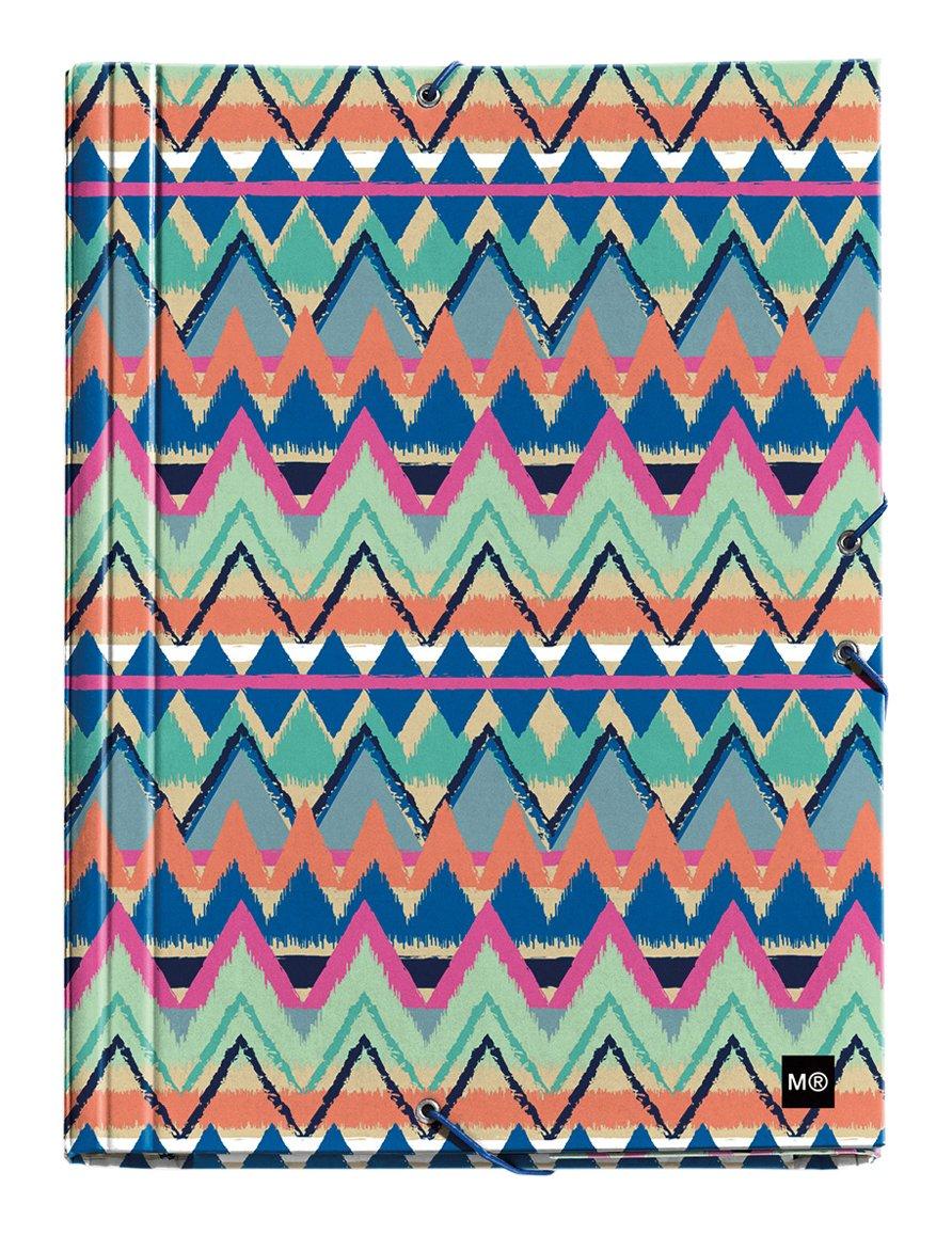 Miquelrius 20131 - Carpeta solapas, A4, multicolor: Amazon.es: Oficina y papelería