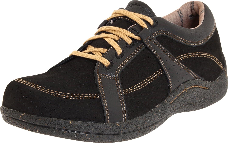 Drew Shoe Women's Genevar Oxfords B0058ZT6HU 8 B(M) US|Black Leather/Nubuck