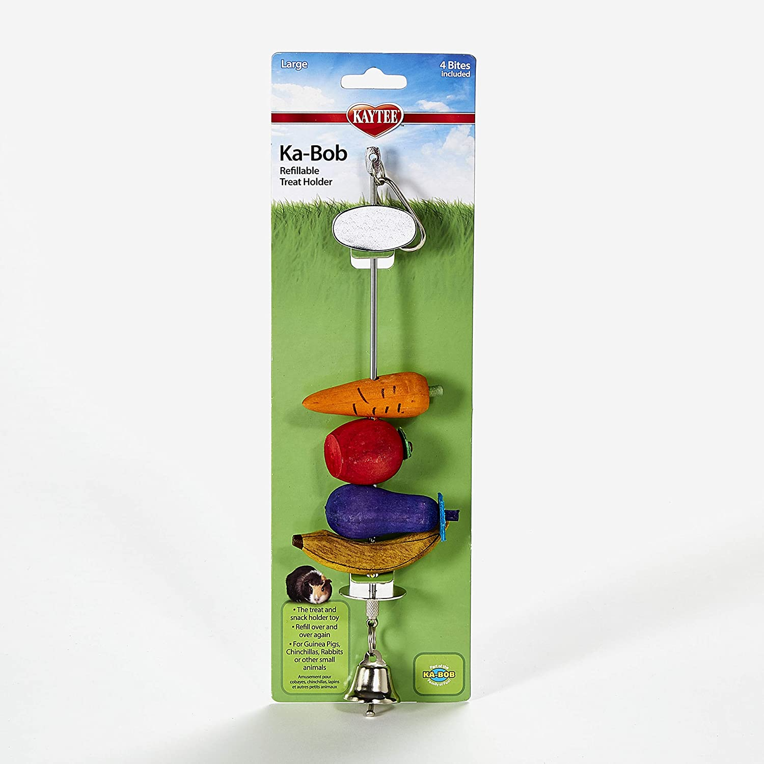 Kaytee Ka-Bob Treat Dispensing Small Animal Toy