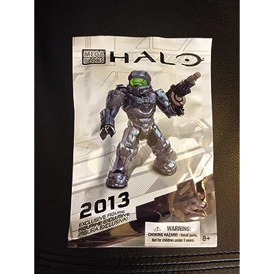 SDCC 2013 Exclusive Mega Bloks Halo Spartan Figure 99693: Toys & Games