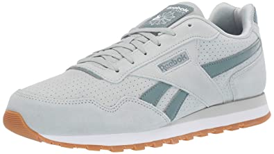 8aa6f6a10813 Reebok Women s Classic Harman Run Sneaker sea Spray Fog Smoky Rose White