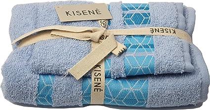 set bagno asciugamano viso 100/% cotone Coppia Asciugamani di spugna ospite