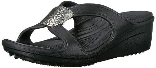 3ca59aa3d89d Crocs Women s Snrhembllshdwdg Thongs  Amazon.co.uk  Shoes   Bags