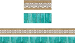Teacher Created Resources Shabby Chic Double-Sided Border (77169)