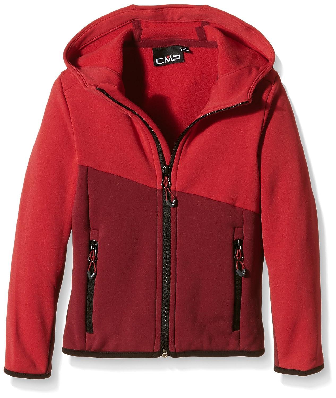 CMP - Forro polar juvenil, todo el año, niño, color Rojo - Malboro, tamaño 10 años (140 cm) 3E14454 3E14454_C894-140