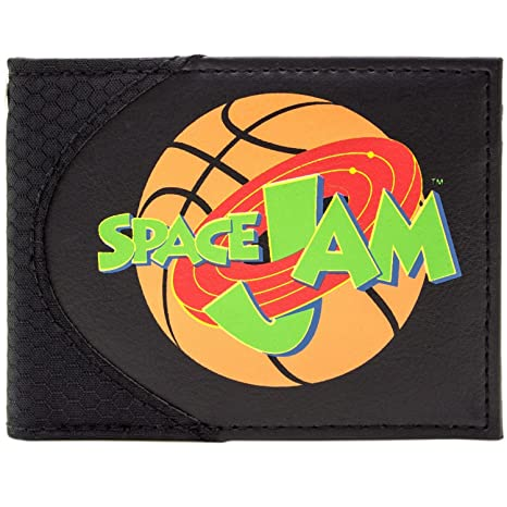 Cartera de Space Jam Michael Jordan & Looney Tunes Negro